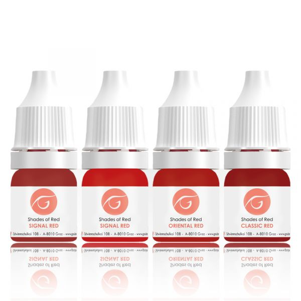 SET - Shades of Red , 5ml