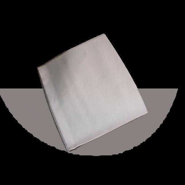 Handtuch / Vlies, weiß, 50 Stk./Pkg.