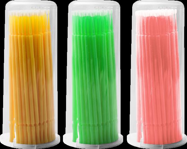 Gaube Silk Lashes Applicator Sticks, 100 Stk.