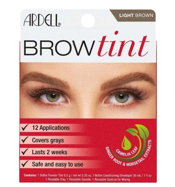 Brow Kit, Henna plus, light brown