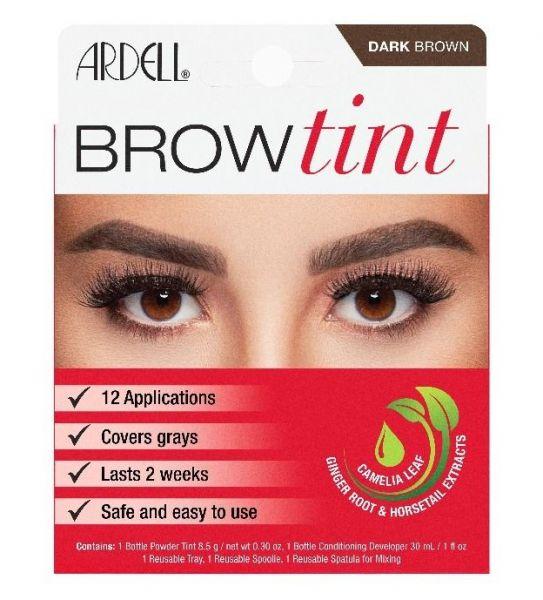 Brow Kit, Henna plus, dark brown