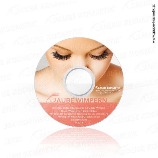 Advertising pictures CD eyelashes