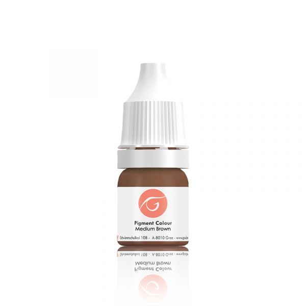 OL Gaube Pigmentfarbe - Medium Brown, 10 ml