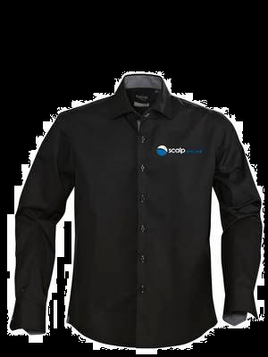 Scalp Men long sleeve shirts, black