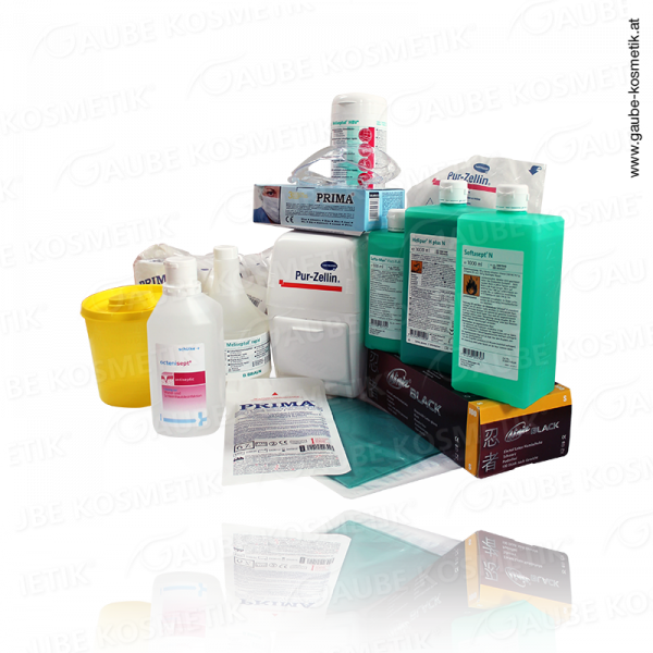 Hygiene package for tattoo artists/piercers