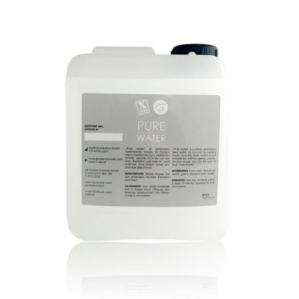 Gaube/X-Side pure water - 5 Liter