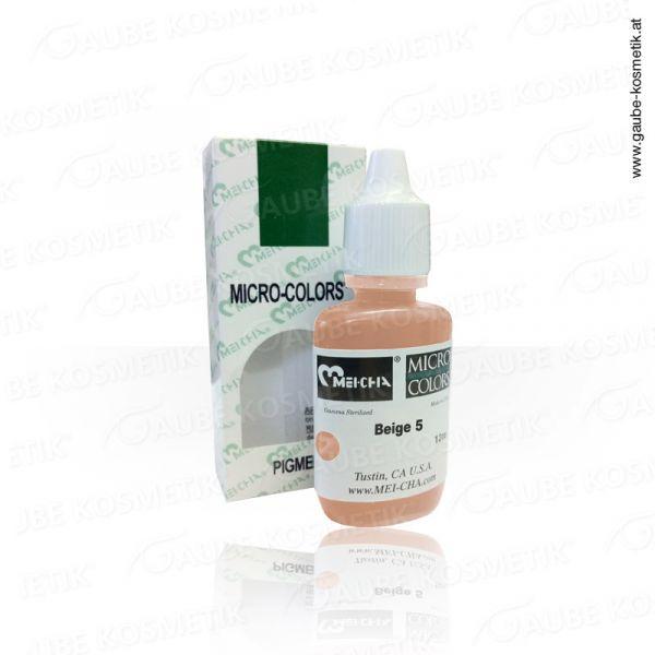 Micro Pigmentfarbe - Beige 5, 12 ml