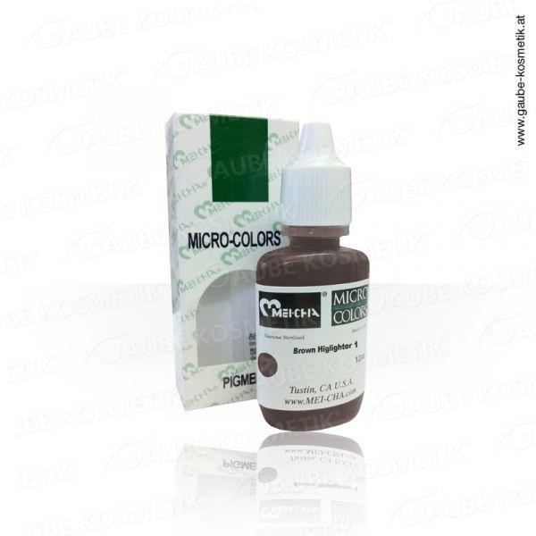 Micro Pigmentfarbe - Brow Highlighter 1, 12 ml