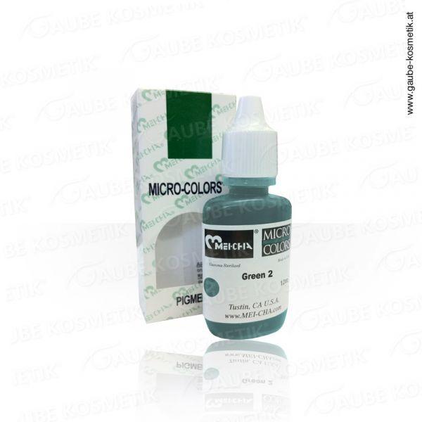 Micro Pigmentfarbe - Green 2, 12 ml