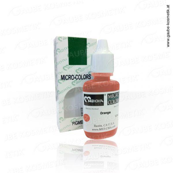 Micro Pigmentfarbe - Orange, 12 ml