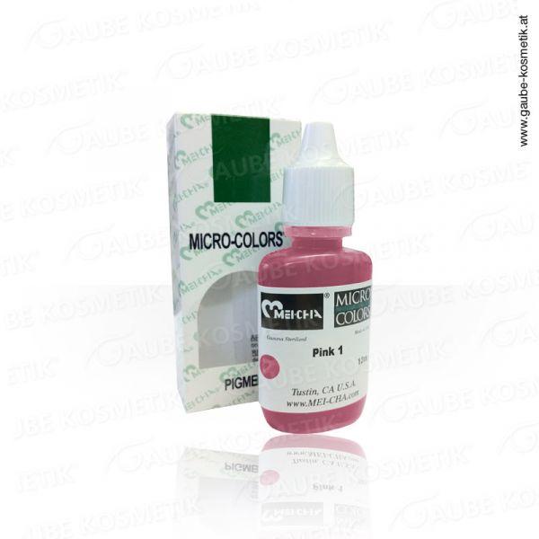 Micro Pigmentfarbe - Pink 1, 12 ml