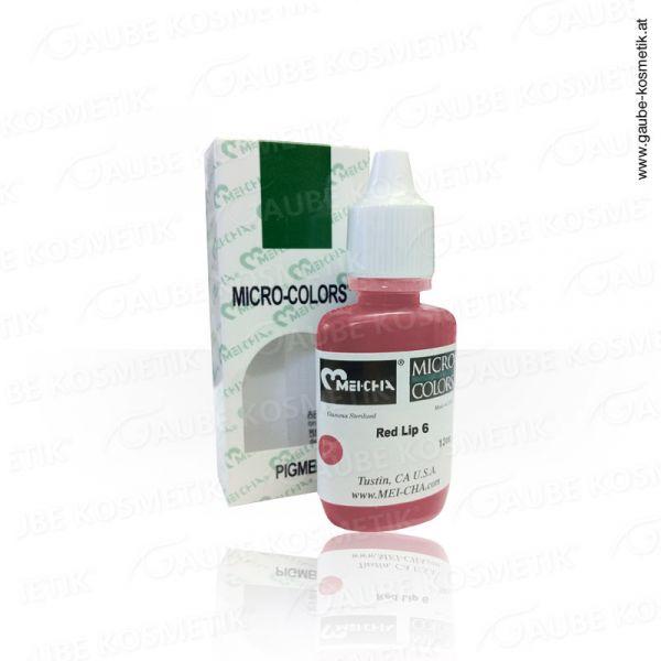 Micro Pigmentfarbe - Red Lip 6, 12 ml