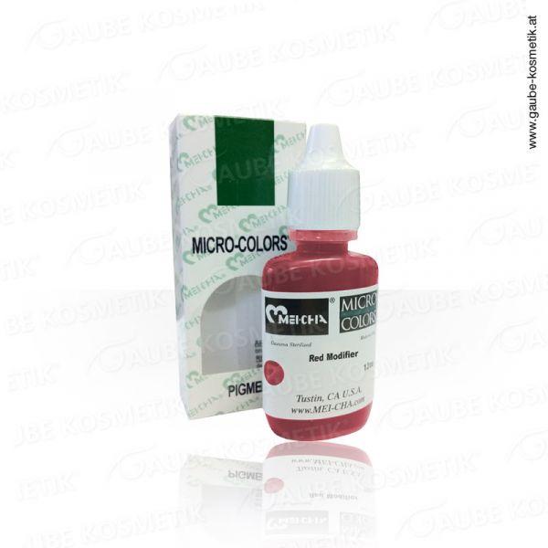 Micro Pigmentfarbe - Red Modifier, 12 ml