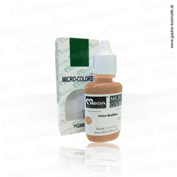 Micro Pigmentfarbe - Yellow, 12 ml