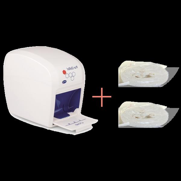 Pur Zellin dispenser box + 1000 pcs. Refill
