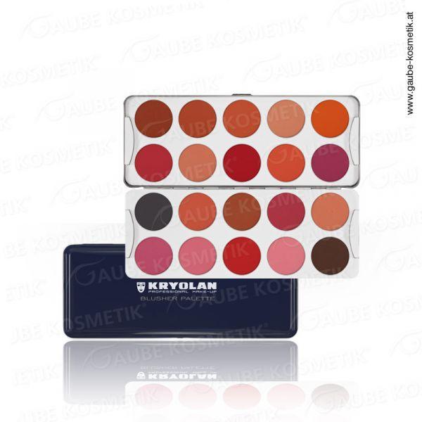 Trockenrouge Palette mit 20 Farben