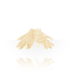 Handschuhe Latex unsteril puderfrei, Größe, 100 Stk.